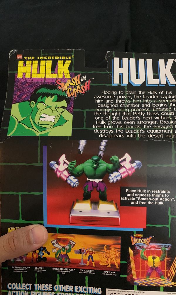 The Incredible Hulk action figure