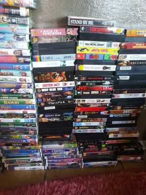 VHS for Sale in Stockton, CA