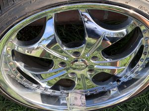 "20"" VCT 5/114.3 lug pattern rims and tites for Sale in Gardena, CA"