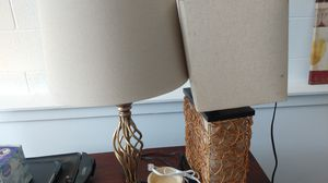 2 lamps, $5 each or both for $7 for Sale in North Chesterfield, VA
