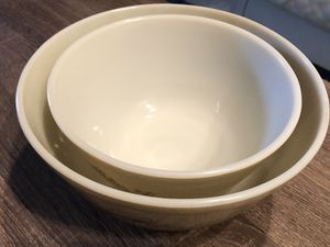Vintage Pyrex Nesting Mixing Bowls (2) in Forest Fancies for Sale in Phoenix, AZ