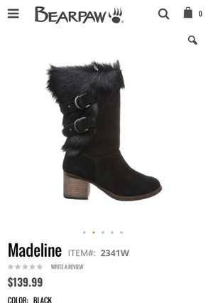 🔥New! BEARPAW® Madeline Suede Block-Heel Boot with NeverWet™ for Sale in Malden, MA
