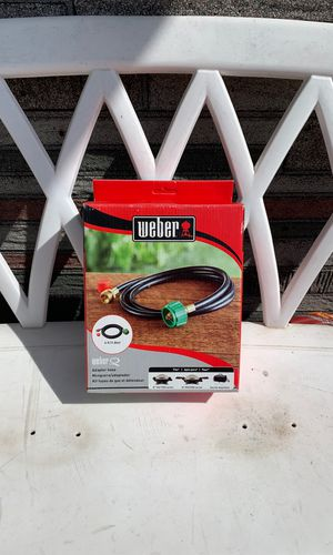 Weber portable grill adaptor hose! Work with Gas Go-Anywhere grills as well as WeberQ bbq! Weber item 6501 for Sale in Chicago, IL
