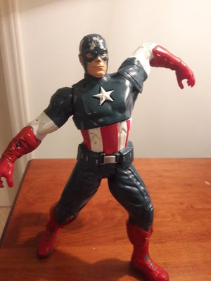 Captain America Talking Action Figure for Sale in Raleigh, NC