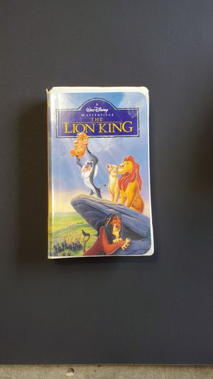 Disney Lion King VHS for Sale in Greer, SC