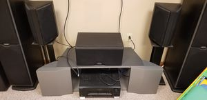 Home theater system. Polk Audio speakers and Sony DA777ES receiver for Sale in Cranberry Township, PA
