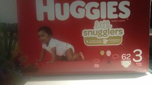 Huggies. Baby diapers ( size 3) for Sale in Yarrow Point, WA
