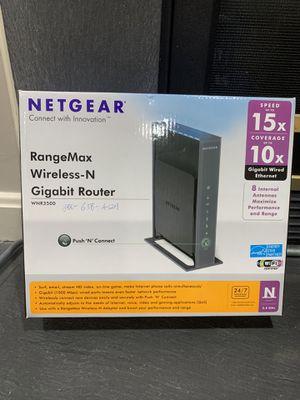 Netgear RangeMax Wireless-N Gigabit Router for Sale in Fairfax, VA