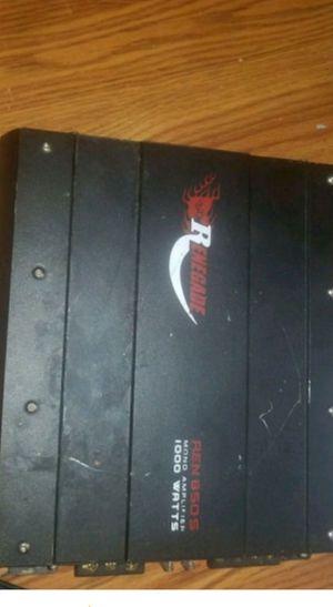 1000 watt amp for Sale in Kingsport, TN