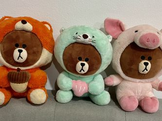 Line Friend Brown Bear for Sale in Queens,  NY
