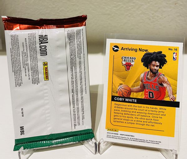 2019 2020 NBAHOOPS Winter Pack & Coby White Arriving Now!