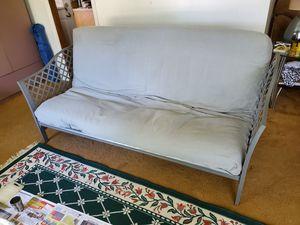 Gray futon for Sale in Niles, IL