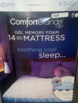 Nova Form Comfort Grande Gel Memory Foam Mattress for Sale in Seattle,  WA