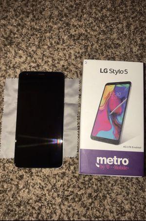 Metro Network Locked LG Stylo 5 32GB NEW! for Sale in Hightstown, NJ