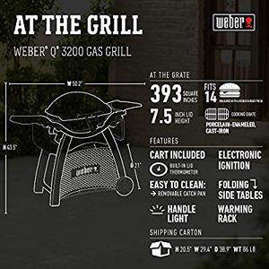 Weber Q3200 Grill for Sale in Alexandria, VA