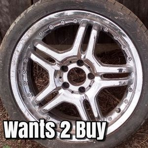 "Wants to buy single 18"" rim for Sale in San Diego, CA"