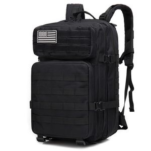 Black Tactical Backpack 45L With Flag Patch - New for Sale in Clackamas, OR