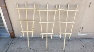 3 plant trellises for Sale in Fresno, CA