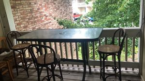 Bar height outdoor table-table only for Sale in Columbia, MO