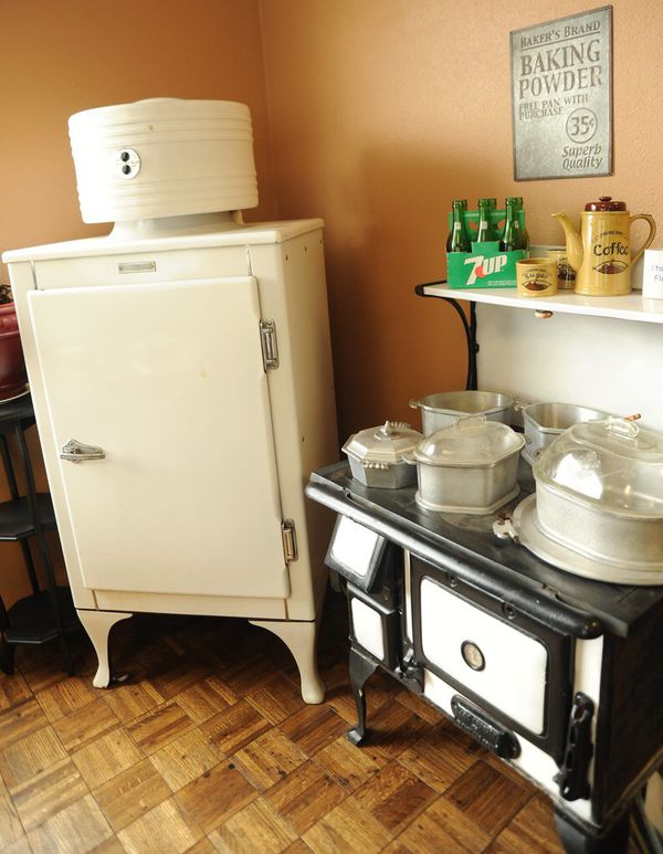 Traditional kitchen appliances
