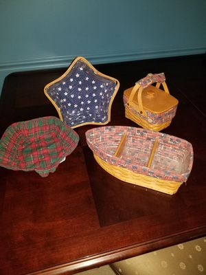 Longaberger Baskets for Sale in Fishers, IN