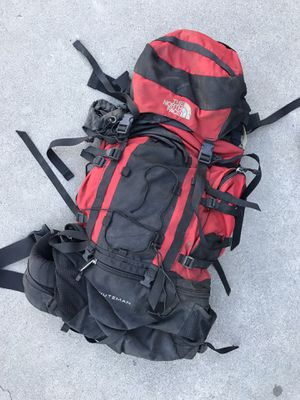 Used north face hiking backpack for Sale in Fullerton, CA