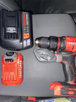 20V craftsman drill for Sale in Plant City, FL