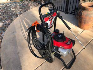 Simpson 3000 psi and 2.4 gallons per minute pressure Honda powered washer with upgraded 50 foot hose. for Sale in Fallbrook, CA
