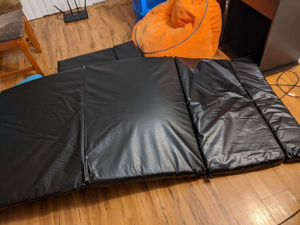 Two folding mats, thick, from japan