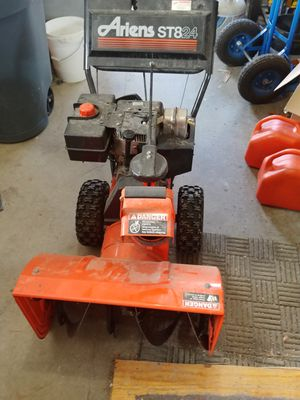 Ariens ST8 24 Snowblower for Sale in Clifton, ME