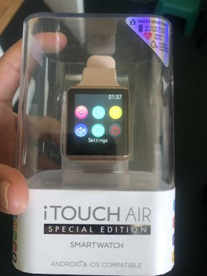 Itouch air special edition smart watch android and iOS compatible for Sale in Gardena, CA