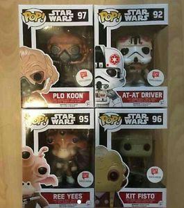 Funko Pop Star Wars Lot Walgreens Exclusive for Sale in Alexandria, VA