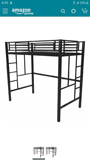 Black loft bed for Sale in Olympia, WA