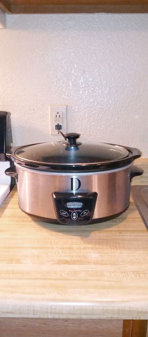Studio D digital Crock-Pot in good condition for Sale in Las Vegas, NV