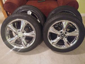 Brand New Mercedes Benz 17.5 Chrome Rims and Tires for Sale in Washington, DC
