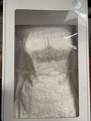 David's Bridal used wedding dress for Sale in Corona, CA