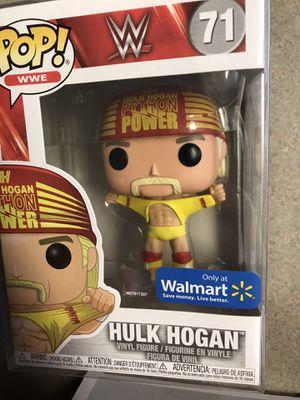 Hulk Hogan Funko Pop Wrestlemania 3 Walmart Exclusive WWE 71 with protector for Sale in Addison, TX
