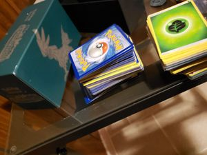 Pokemon cards with play mates for Sale in Sterling, VA