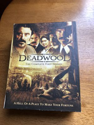 Deadwood first season box set for Sale in Newburgh, IN
