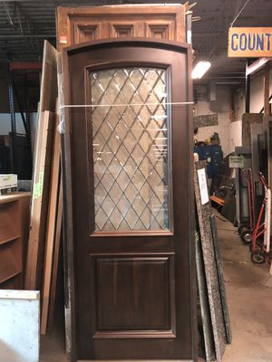 Solid Wood Curved Door for Sale in Evanston, IL