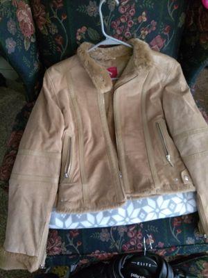 Women's Davoucci suede jacket for Sale in Detroit, MI