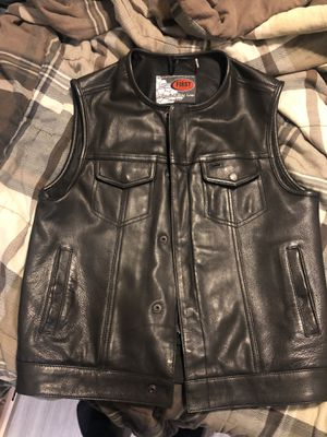 Leather motorcycle Vests medium for Sale in Phoenix, AZ