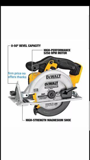 DEWALT DCS391B 20-Volt MAX Li-Ion Circular Saw Powerful&Lightweight Tool Only for Sale in UPR MARLBORO, MD