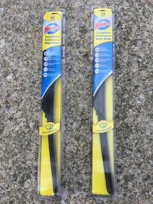 Windex windshield wipers for winter. Price per pair. for Sale in Solon, OH