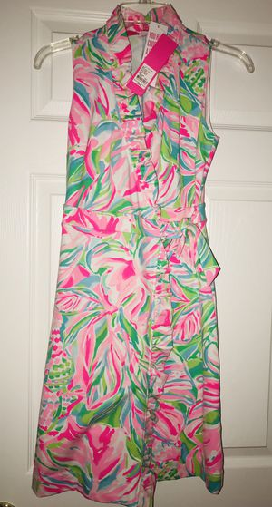 Lilly Pulitzer Croc My World Romer Wrap Dress NWT for Sale in Fernandina Beach, FL