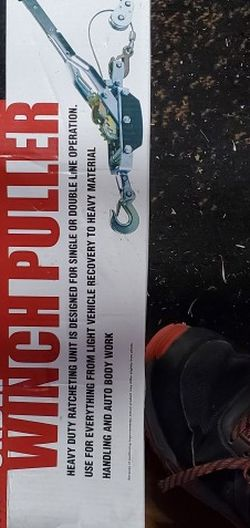 Harbor Freight Winch Puller Brand New for Sale in Westminster,  CA