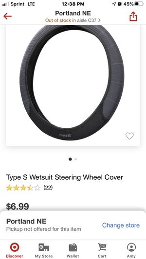 Type S Steering Wheel Cover for Sale in Portland, OR