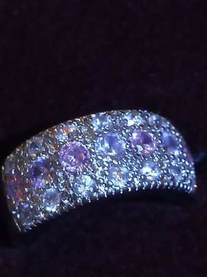 Dazzling pink topaz Sterling silver ring for Sale in Akron, OH