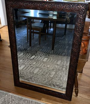 Beautiful vintage large decorative mirror for Sale in Cary, NC