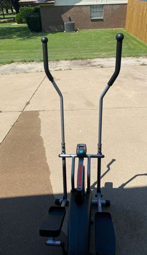 Exerpeutic Eliptical machine like new barely used! for Sale in Burleson, TX